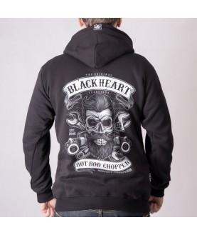 Sweat Zippé Rock Biker...